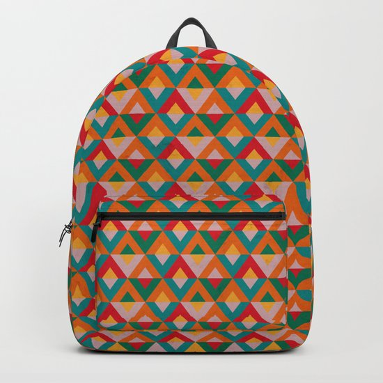 Geometric Ethnic Pattern Backpack