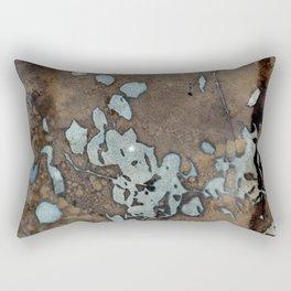 Somber Raindrops Rectangular Pillow