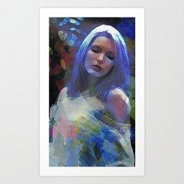 Moonshadows Art Print