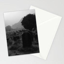Foggy Graveyard... | Halloween Art | Stationery Cards