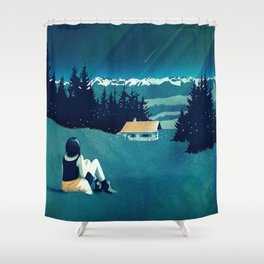 Magical Solitude Shower Curtain