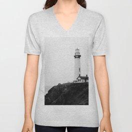 Lighthouse Unisex V-Neck
