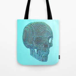 Diamond Skull Tote Bag