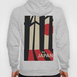 Japan vintage travel poster Hoody
