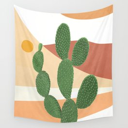 Abstract Cactus II Wall Tapestry