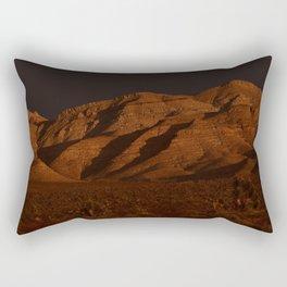 Desert Alpenglow - II Rectangular Pillow