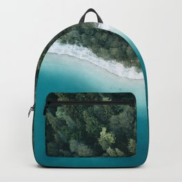 Green and Blue Symmetry - Landscape Photography Backpack