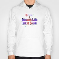 castlevania Hoodies featuring Castlevania III - Miserable Pile of Secrets by Aaron Campbell