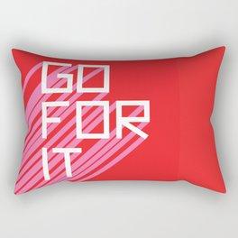 Go For It Rectangular Pillow