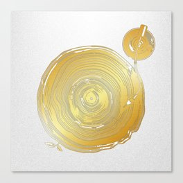 Vinyl Rings Canvas Print