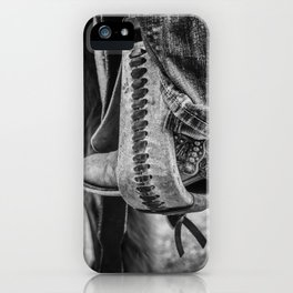 Stirrup Art iPhone Case
