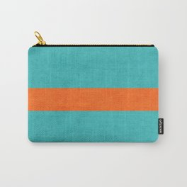 aqua and orange classic Carry-All Pouch