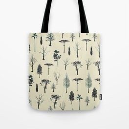 trpical trees Tote Bag