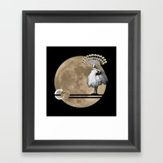 Moon. Child. Framed Art Print