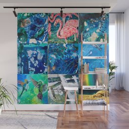 Environmental Tropical Oceans and Animals Wall Mural