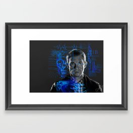 the army doctor Framed Art Print