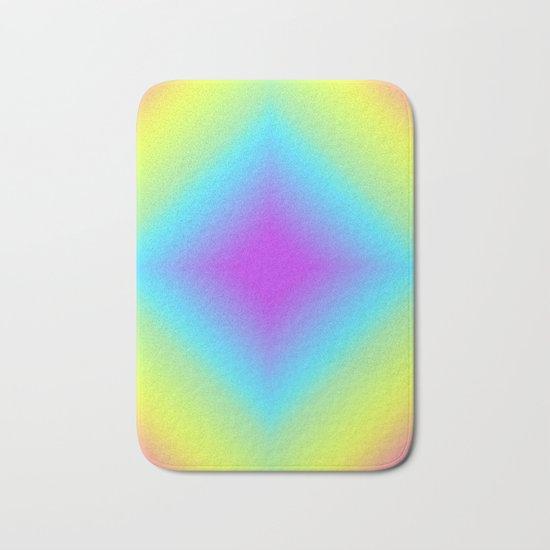 Diamond Rainbow Gradient Bath Mat