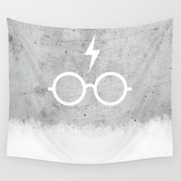 Harry P Concrete Wall Tapestry