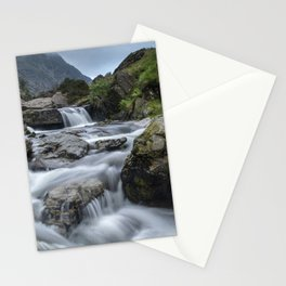 Waterfalls in Snowdonia III Stationery Cards