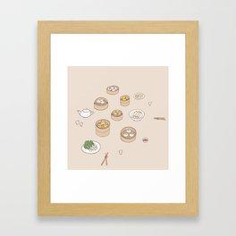 Tea Time Framed Art Print