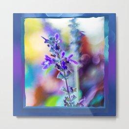Blue Bell Wildflowers Metal Print