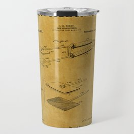 Hair Straightener Patent 1 Travel Mug