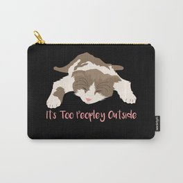 Introverts - Too Peopley Outside Carry-All Pouch