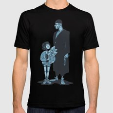Leon the Professional Mens Fitted Tee Black 2X-LARGE
