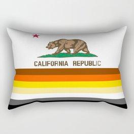 Bear flag art for California  Rectangular Pillow