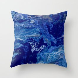 Flat Earth Throw Pillow