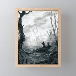 The Spirit Lives On Framed Mini Art Print