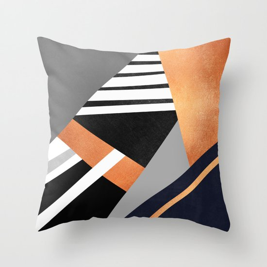 Geometric Combination V2 Throw Pillow by Elisabeth Fredriksson Society6