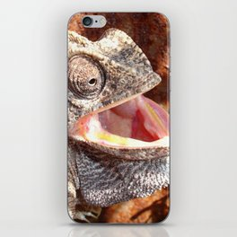 The Laughing Chameleon iPhone Skin