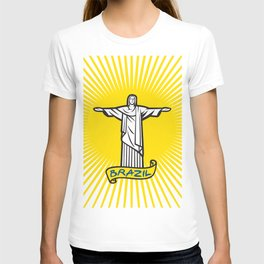 Christ the Redeemer statue in Rio de Janeiro, Brazil T-shirt