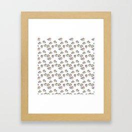 a flock of seagulls Framed Art Print