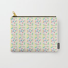 Rectangle and abstraction 4-mutlicolor,abstraction,abstract,fun,rectangle,square,rectangled,geometry Carry-All Pouch