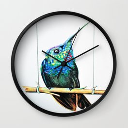 Humming Bird Wall Clock