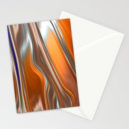 Monochrom Golden Age Splash Abstract Stationery Cards