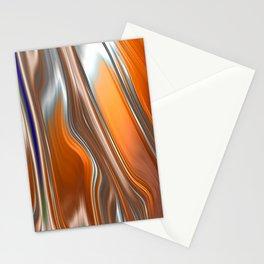 Monochrom Golden Age Splash Abstract Stationery Cards