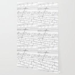 Mind the Gap - Line Art Wallpaper