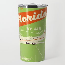 Florida By air - vintage travel poster Travel Mug