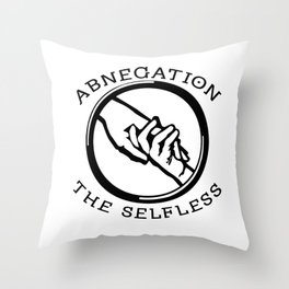 Divergent - Abnegation The Selfless Throw Pillow