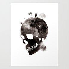 the darkest side Art Print
