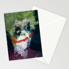 A Joker painting Stationery Cards