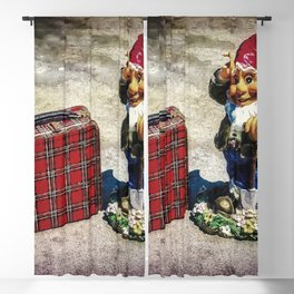 Gnome Schooled Blackout Curtain