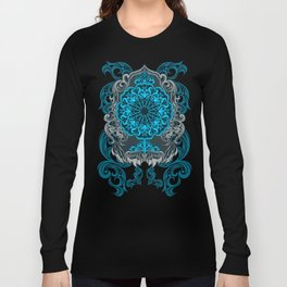 MIRROR BLUE ARABIAN STYLE Long Sleeve T-shirt