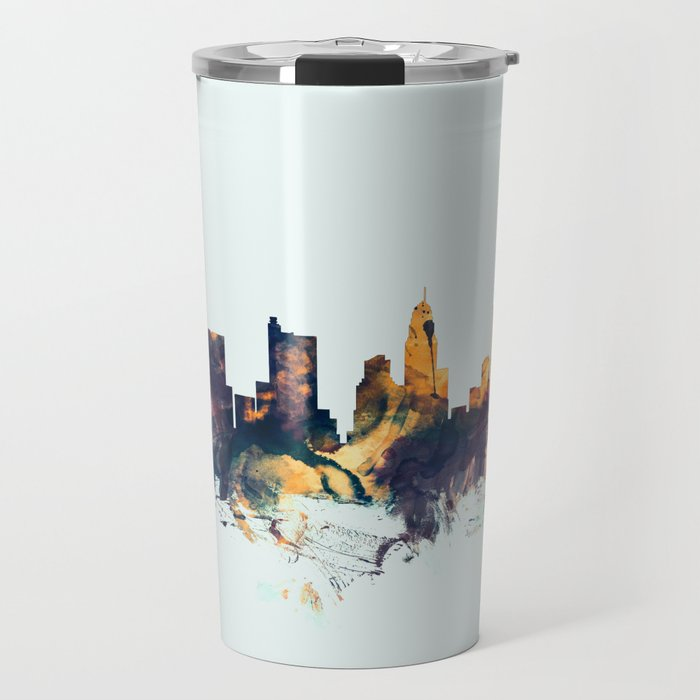 Columbus Ohio Skyline Travel Mug