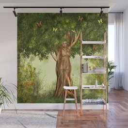 Mother Nature Tree Wall Mural