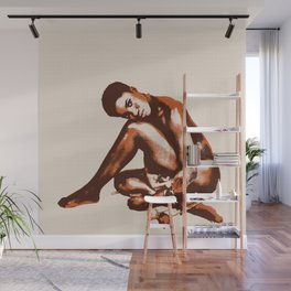 Chocolate Tea Wall Mural