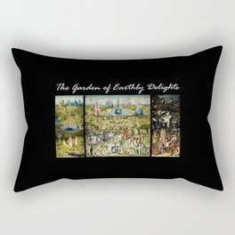The Garden Of Earthly Delights Hieronymus Bosch Rectangular Pillow